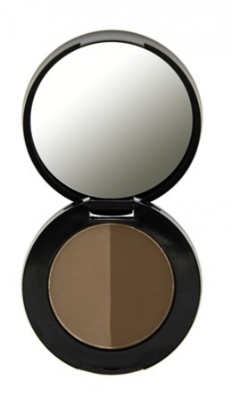 Двойные тени для бровей Duo Eyebrow Powder Dark Brown Freedom Makeup