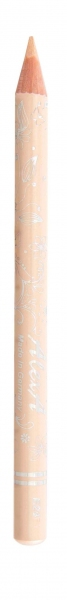 Карандаш для глаз E24 бело-розовый (матовый)