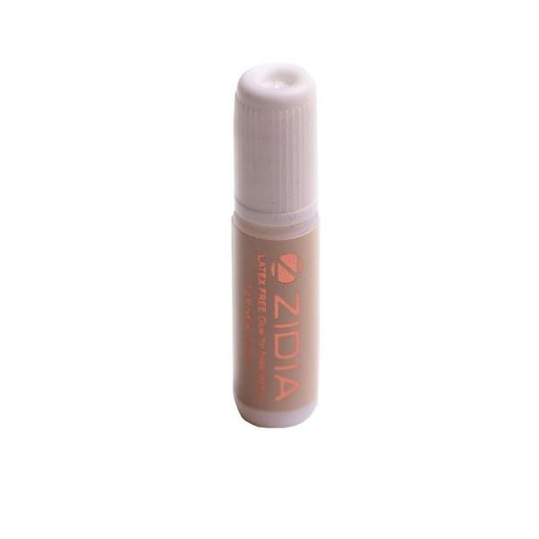 ZIDIA Latex Free Glue - клей для накладных ресниц и пучков (прозрачный), 1 г