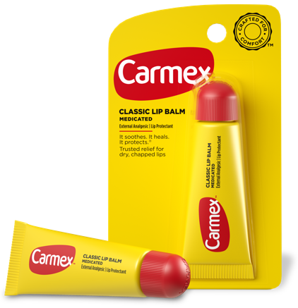 Carmex Moisturizing Lip Balm SPF 15 Tube in Original