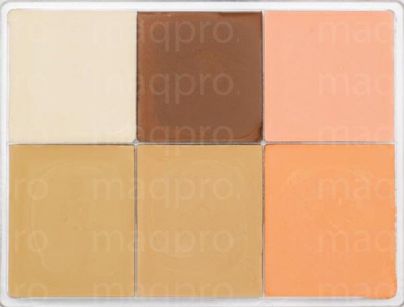 Тон компактный Mat make-up MM-102 MaqPro