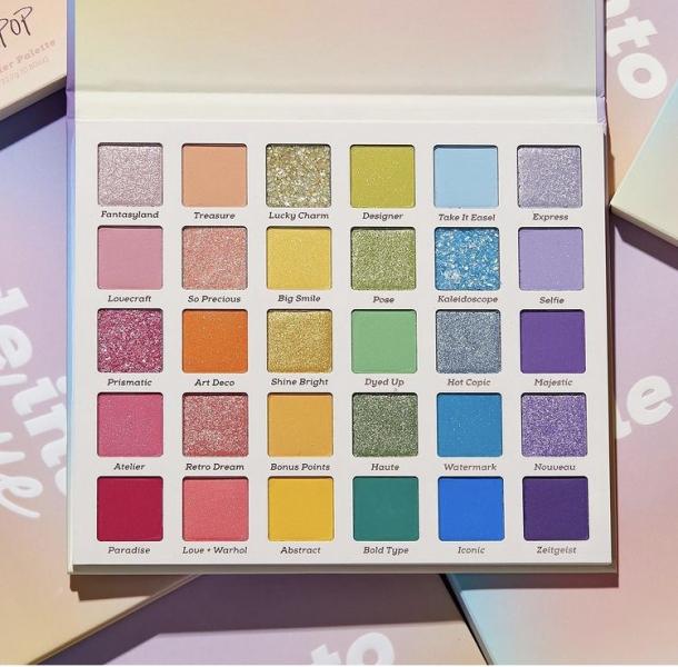 Волшебная палетка теней Colourpop Fade Into Hue Shadow Palette