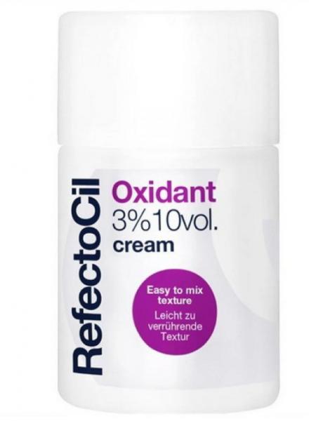RefectoCil Oxidant 3% Creme - кремообразный 3% окислитель для краски, 100 мл
