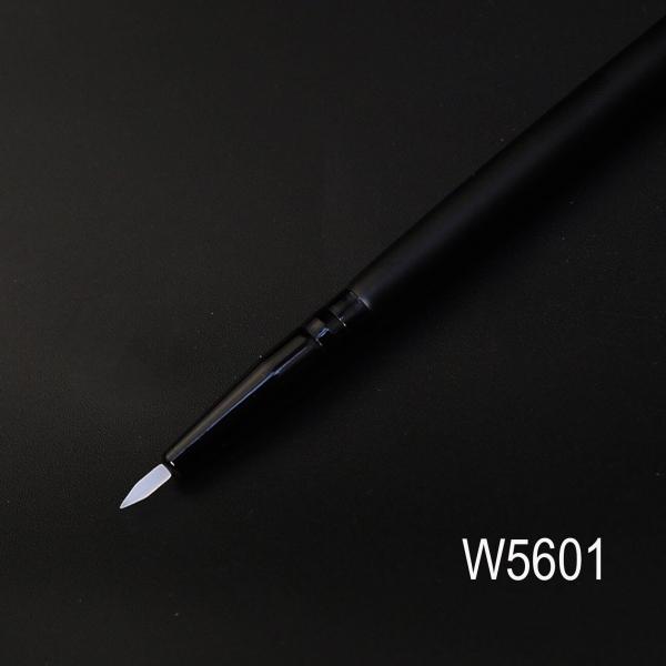 Кисть для нанесения подводки и тонких линий W5601 из силикона