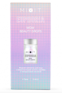 Жидкий хайлайтер EUPHORIA Wow Beauty Drops Mixit, 5 мл
