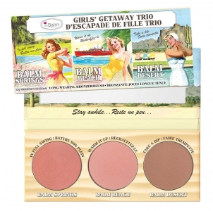 Палитра румян the Balm Girls' Getaway Trio