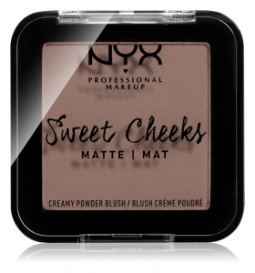 Скульптор NYX taupe Sweet Cheeks Blush Matte (оттенок So Taupe)